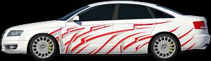Двухцветная апликация 3.7х0.8Нажмите для выбора цвета машины и наклейки