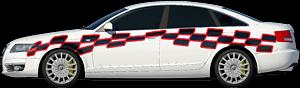 Двухцветная апликация 3.2х0.4Нажмите для выбора цвета машины и наклейки